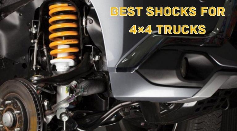 Best Shocks for 4×4 Trucks