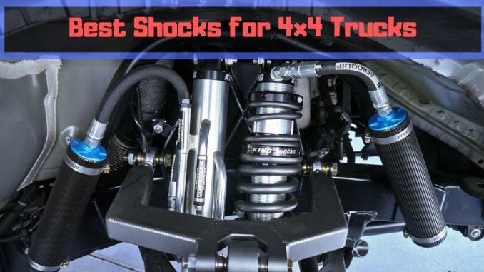 Best Shocks for 4x4 Trucks