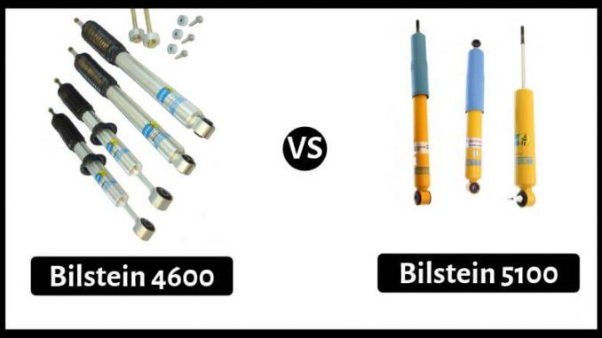 Bilstein 4600 vs 5100