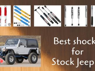 Best shocks for Stock Jeep JK