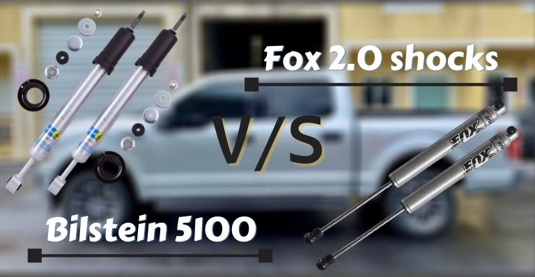 Fox 2.0 shocks vs Bilstein 5100
